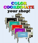 Color Coordinate Your Shop