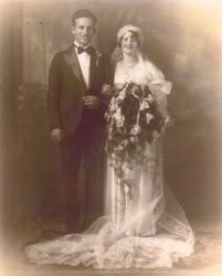 George & Josie Wedding June 24, 1931